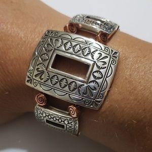 Brighton ladies 2 toned bracelet
